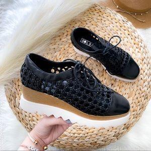 SOL SANA Fremont Wedge Oxfords Platform Shoes